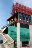 The church is under construction. Wat Krok Krak, Samutsakorn, Thailand Royalty Free Stock Photo