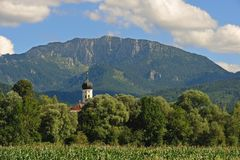 Church in Upper Bavaria Royalty Free Stock Images