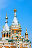 Church  in Uralsk city Stock Images