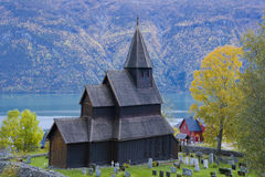 Church of Urnes Stavkirke. Norway Stock Photography