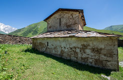 Church in Ushguli Stock Photos