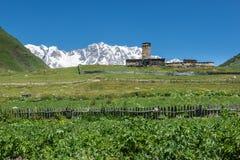 Church in Ushguli Royalty Free Stock Image