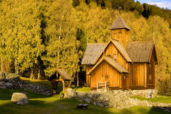 Church, Uvdal Stavkirke. Church of Uvdal Stavkirke, Norway Royalty Free Stock Photography