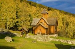 Church, Uvdal Stavkirke Stock Images