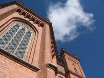 Church of Vaasa stock image