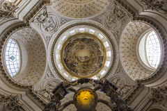 Church of the Val de Grace, Paris, France Royalty Free Stock Photography
