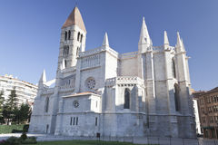 Church in Valladolid royalty free stock photos