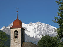 Church in Valle Anzasca Royalty Free Stock Photography