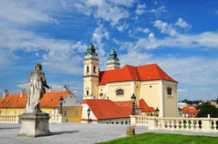 Church Valtice Royalty Free Stock Photography