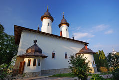 Church of Varatec monastery Royalty Free Stock Photography