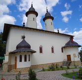 Church of Varatec Monastery in Romania Royalty Free Stock Images