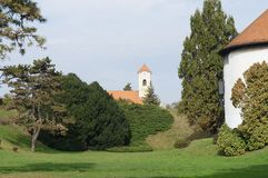 Church in Varazdin Royalty Free Stock Photos