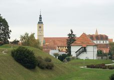 Church in Varazdin Royalty Free Stock Image