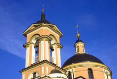 Church   varvara   great martyr  moscow  russia   church bell tower Royalty Free Stock Photos