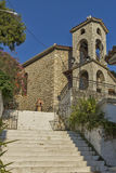 Church in Vasiliki, Lefkada, Ionian Islands Royalty Free Stock Image