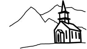 Church Vector Image Stock Photography