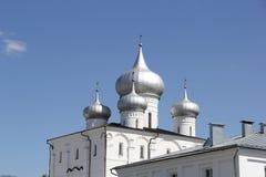 Church in Velikiy Novgorod Stock Photo