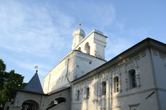 Church in Velikiy Novgorod stock photography