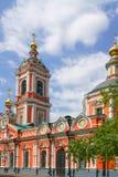 Church of the Venerable Pimen the Great in Novyye Vorotniki Stock Images