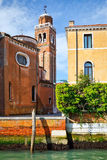 Church in Venice. Image of the church in Venice Royalty Free Stock Photos