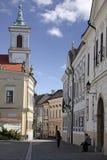 Church in Veszprem Stock Photos