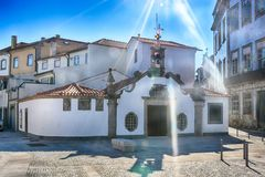 Church in Viana do Castelo Royalty Free Stock Images