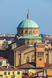 Church view Bologna Italy Royalty Free Stock Images