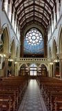 In church. View inside of an irish church Royalty Free Stock Photography