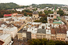 Church. A view of Church. Lviv. Ukraine royalty free stock photos