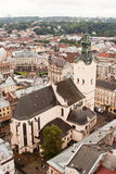 Church. A view of Church. Lviv. Ukraine stock image