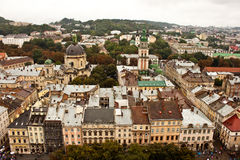 Church. A view of Church. Lviv. Ukraine stock photos