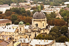Church. A view of Church. Lviv. Ukraine stock images