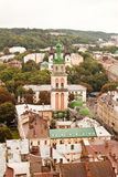 Church. A view of Church. Lviv. Ukraine royalty free stock photo