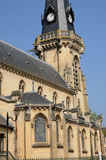 The church of Vigny in Val d Oise Royalty Free Stock Photography
