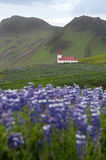 Church in Vik, Iceland Stock Photos