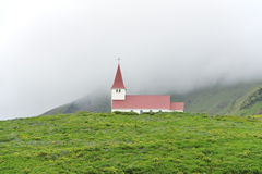 Church at Vik, Iceland Royalty Free Stock Photo