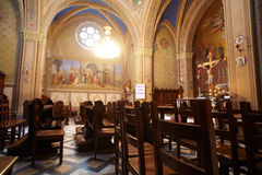 Church of Villa Revoltella Stock Images