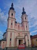 Church in Villach Royalty Free Stock Photos
