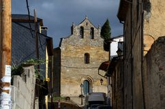 Church of Villafranca del Bierzo Leon Spain Royalty Free Stock Photography