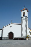 Church in village Alfarero del Arguayo, Tenerife, stock images