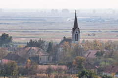 Church in a village Royalty Free Stock Photo