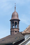 Church of the village of Gruyères, Switzerland royalty free stock images