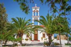 Church of the village of Kaliviani near Kissamos, Crete Greece. Church of the village of Kaliviani near Kissamos, Crete,Greece Royalty Free Stock Image