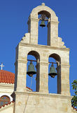Church in village Panormo at Crete, Greece stock image