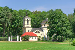 Church. Village Spassky-lutovinovo. Russia. Royalty Free Stock Images