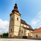 Church in village Stitnik Royalty Free Stock Image