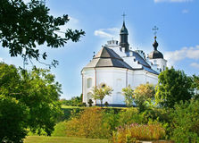 Church in village Subbotiv, Ukraine Royalty Free Stock Image
