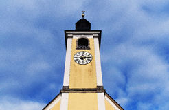 Church in village Stock Photography