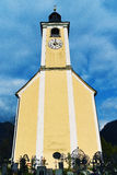 Church in village Royalty Free Stock Image