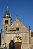 Church of Villers en Arthies Royalty Free Stock Image
